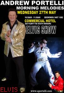 Melbourne Australia Elvis Performer