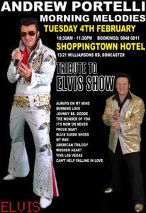 Elvis Impersonator Melbourne