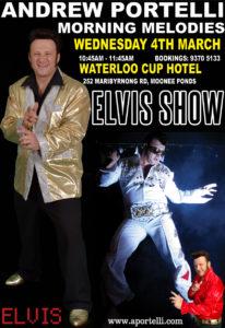 Melbourne Elvis Impersonator